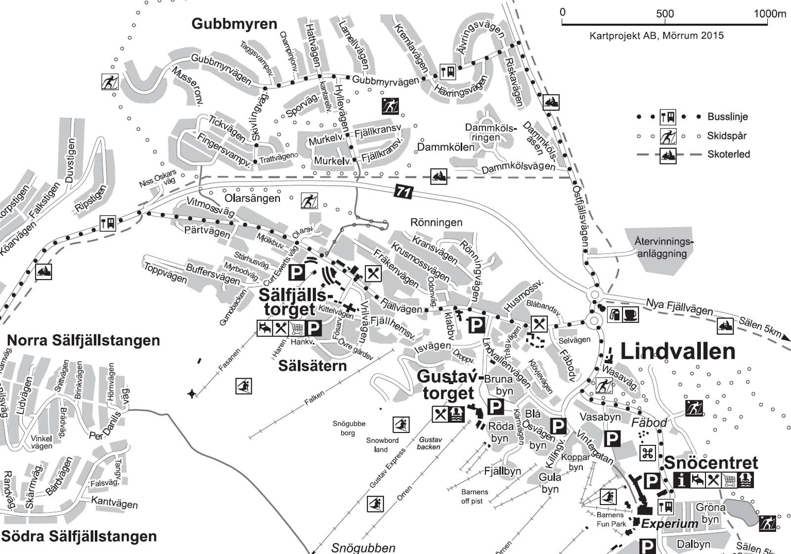 karta lindvallen GuMo Stuguthyrning   Stugkartor i Sälen karta lindvallen